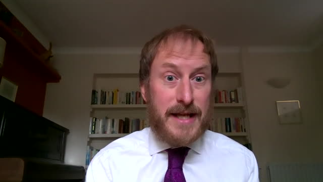deputy director of the institute for fiscal studies carl emmerson saying we will be likely be paying back the borrowed money from the coronavirus... - debt stock videos & royalty-free footage