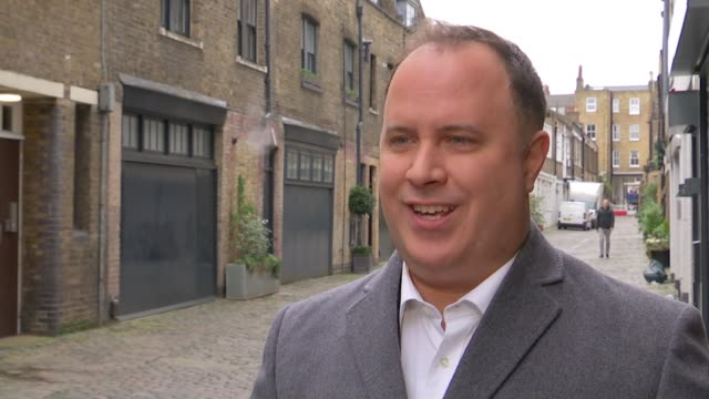 deputy leader of westminster council declares over 500 gifts across three years london councillor adam hug along with reporter / interview sot low... - charing cross stock videos and b-roll footage