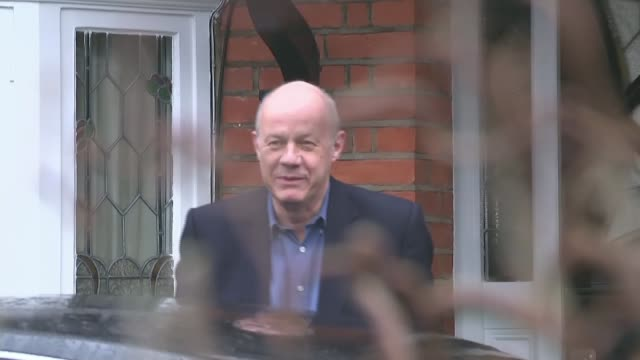 Deputy Prime Minister Damian Green sacked over porn allegations Police leak to be investigated ****FLASH London EXT Damian Green MP from house to car...