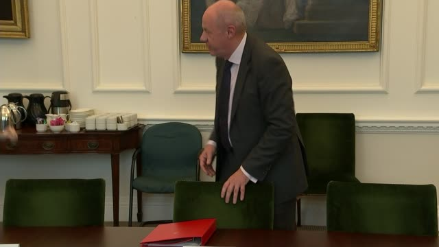 Deputy Prime Minister Damian Green sacked over porn allegations Police leak to be investigated LIB / INT Green at meeting table for Joint Ministerial...
