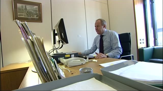 Deputy Prime Minister Damian Green sacked over porn allegations Police leak to be investigated LIB / 2122008 London Westminster INT Various of Green...