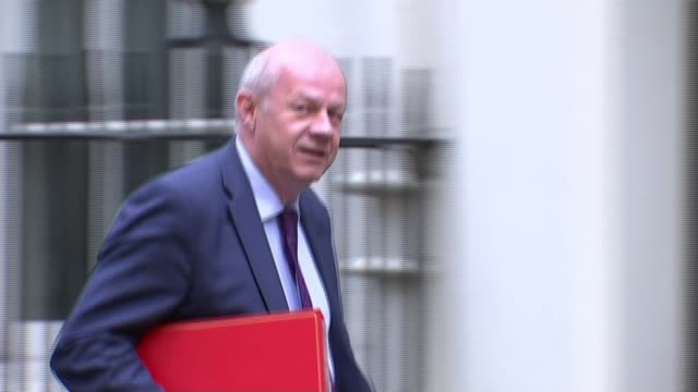 Deputy Prime Minister Damian Green sacked over porn allegations Police leak to be investigated LIB / 592017 EXT Damian Green MP along to Number 10...