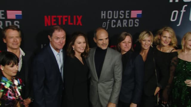 derek cecil campbell scott constance zimmer greg kinnear boris mcgiver diane lane michael kelly cindy holland robin wright melissa james gibson... - robin wright stock videos and b-roll footage
