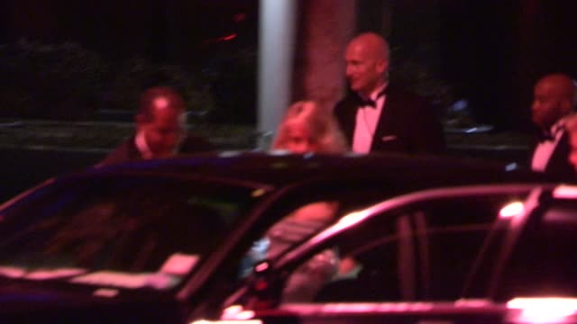 derek hough and julianne hough depart hbo's post emmy awards party at pacific design center at celebrity sightings in los angeles derek hough and... - emmy awards stock-videos und b-roll-filmmaterial