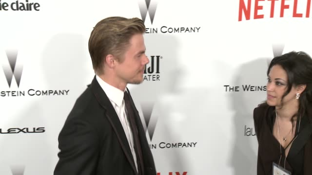 Derek Hough at the 2015 Weinstein Company And Netflix Golden Globe After Party at Robinsons May Lot on January 11 2015 in Beverly Hills California