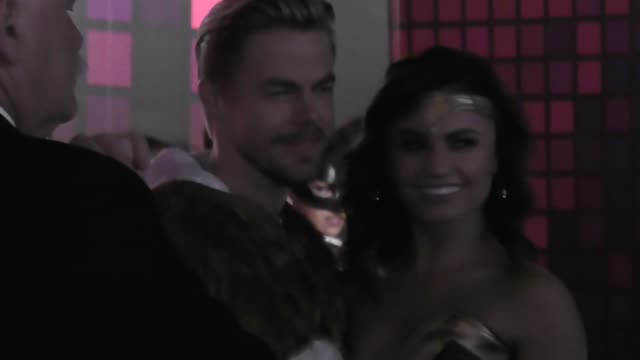 derek hough at the tequila casamigos halloween bash at tower records in west hollywood at celebrity sightings in los angeles on october 27, 2017 in... - tower records stock-videos und b-roll-filmmaterial