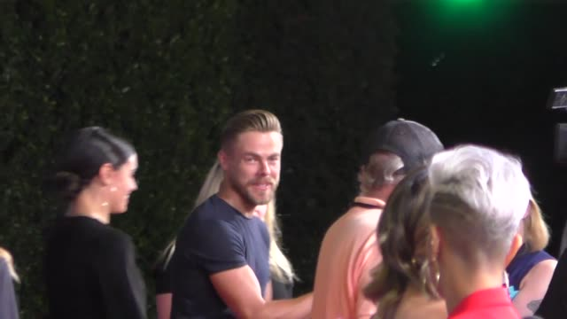 derek hough hayley erbert attend the ad astra premiere at arclight cinerama dome in hollywood in celebrity sightings in los angeles - cinerama dome hollywood stock videos & royalty-free footage
