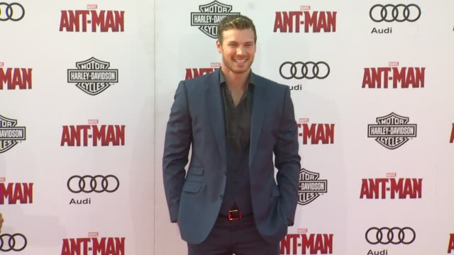 Derek Theler at The World Premiere of Marvel's AntMan at Dolby Theatre on June 29 2015 in Hollywood California
