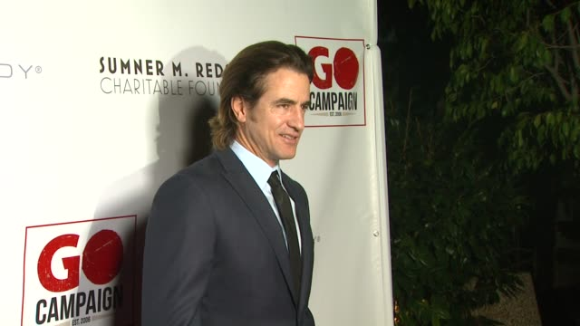 dermot mulroney at 6th annual go go gala in pacific palisades ca on - pacific palisades stock videos & royalty-free footage