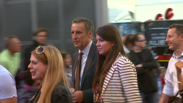 dermot murnaghan at the cowboys aliens uk premiere at london england - cowboys & aliens stock videos and b-roll footage