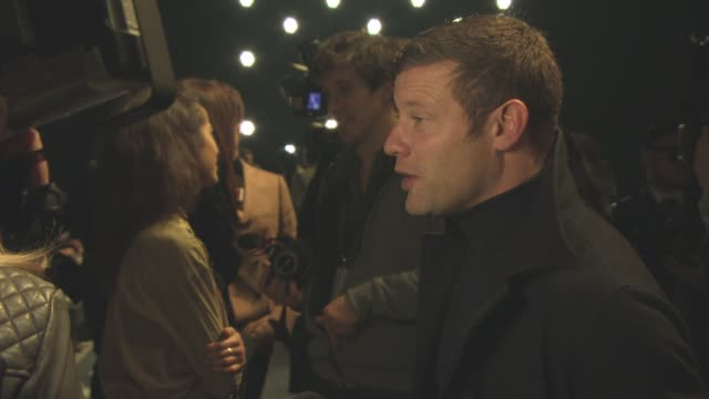 dermot o'leary at lcm: topman design a/w16 catwalk show at the dorchester on january 8, 2016 in london, england. - dorchester hotel stock videos & royalty-free footage
