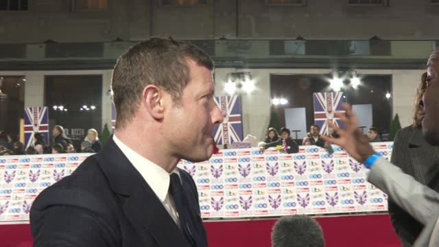 dermot o'leary on the concept of celebrity x factor, on martin bashir being out of his comfort zone on celebrity x factor and being at the pride of... - martin bashir stock videos & royalty-free footage