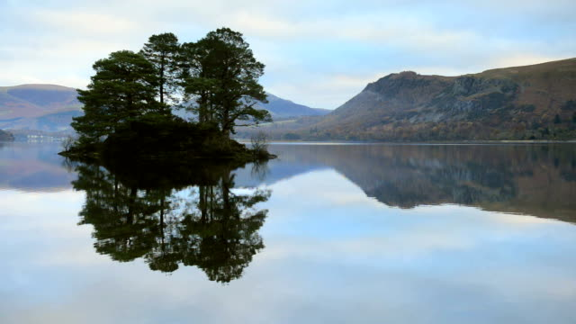 derwentwater, lake district national park - english lake district stock videos and b-roll footage