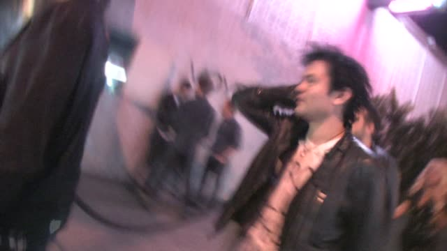 Deryck Whibley arrives at Voyeur in West Hollywood at the Celebrity Sightings in Los Angeles at Los Angeles CA