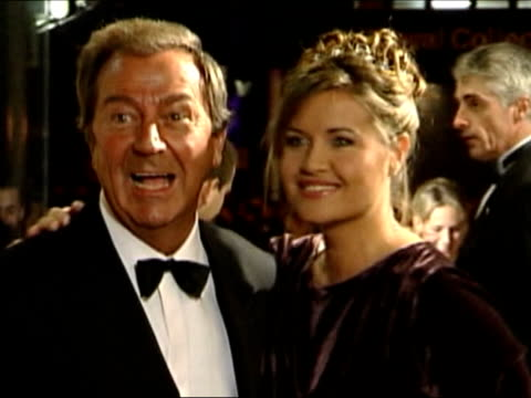 Des O'Connor to be a dad at seventy two LIB Des O'Connor and fiance Jodie BrookeWilson arriving at National Television Awards