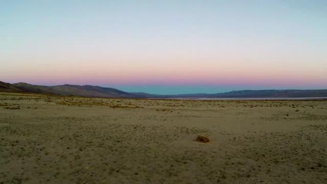 Desert Luftaufnahmen Filmmaterial