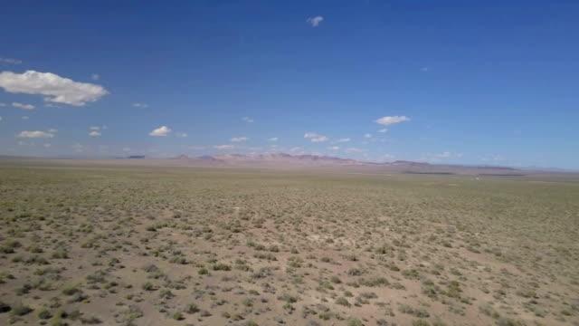 Luchtfoto beelden van de woestijn