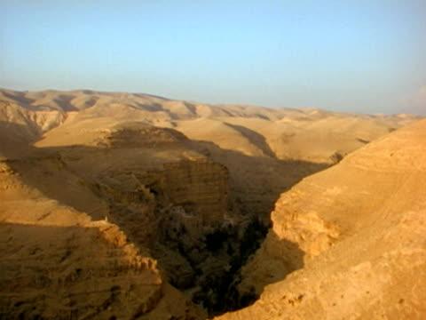 vidéos et rushes de ws, desert canyon - grès