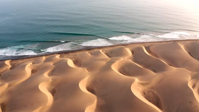 desert coastline of gran canaria. aerial view - grand canary stock videos & royalty-free footage
