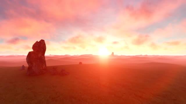 stockvideo's en b-roll-footage met duinen van de woestijn - zandsteen
