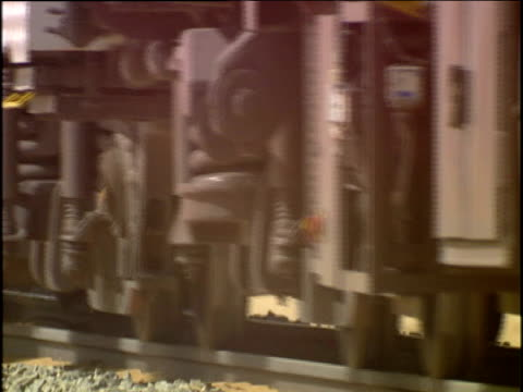 desert express train in namibia - namibia desert stock videos and b-roll footage