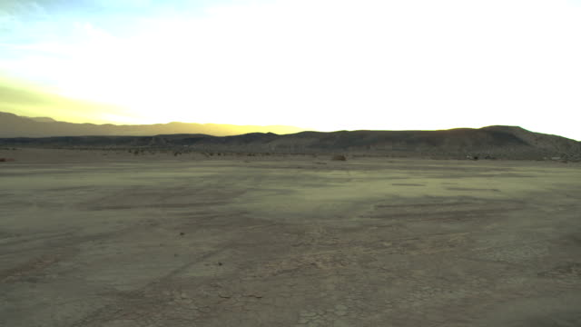 Desert Landscape at Dusk 01