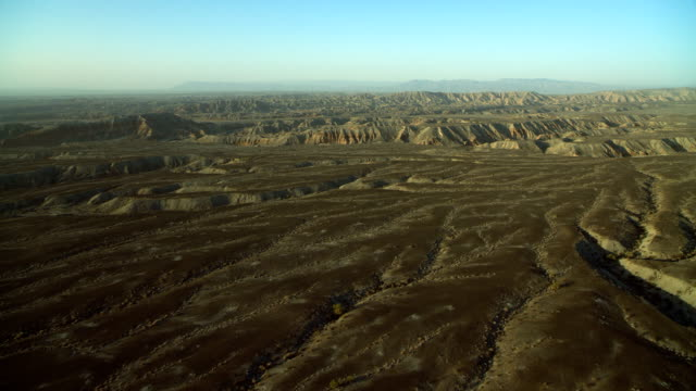 desert landscape in anza borrego park - 北半球点の映像素材/bロール