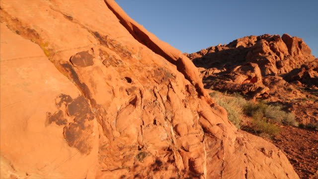 Desert landscape of Valley of Fire State Park in Nevada