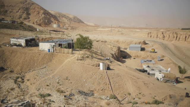 desert mountian village - hebron west bank stock videos & royalty-free footage