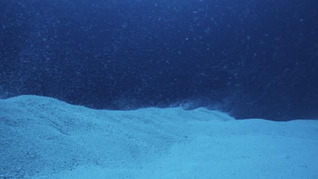 Desert of seabed