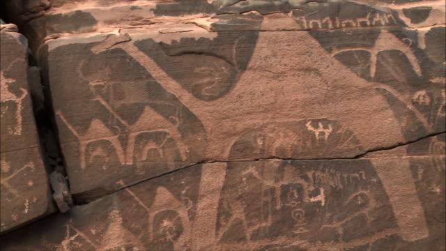 desert paintings 02 - saudi arabia stock videos & royalty-free footage