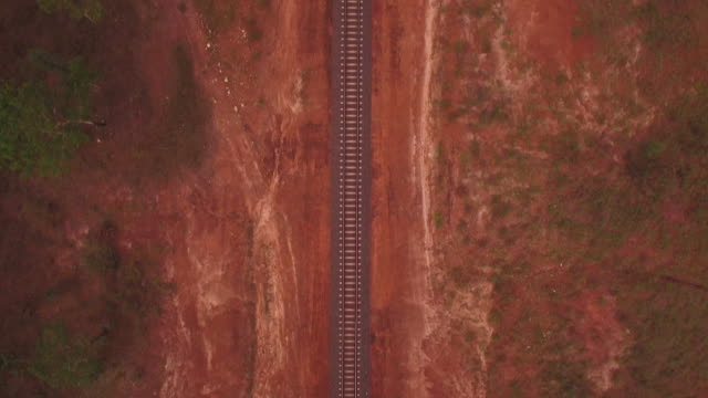 desert railway - outback stock videos & royalty-free footage