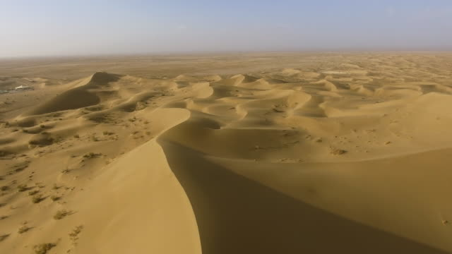 desert sand dunes in central iran - david ewing stock videos & royalty-free footage
