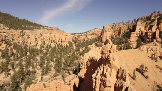 砂漠砂岩岩ブライスキャニオン国立公園近く - ザイオン国立公園点の映像素材/bロール