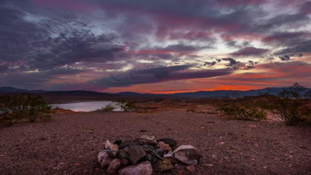 Tiré du désert Sunrise grue