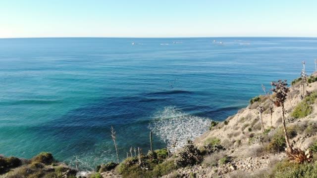 desert surf - penisola di bassa california video stock e b–roll