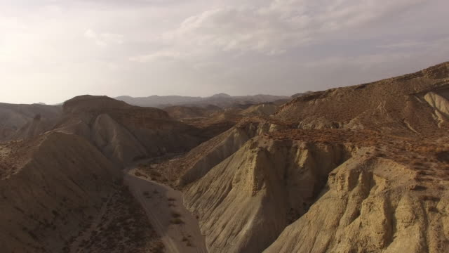 tabernas desert - filmato non girato negli usa video stock e b–roll