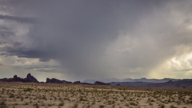 desert thunderstorm time lapse - arizona stock videos & royalty-free footage