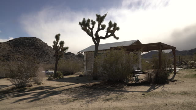 desertlitle house - joshua tree stock videos and b-roll footage