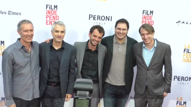 Desierto Cast at the 2016 Los Angeles Film Festival Desierto Premiere at ArcLight Theatre in Culver City in Celebrity Sightings in Los Angeles
