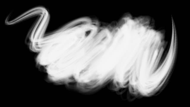 vídeos y material grabado en eventos de stock de design elements white paint brush strokes - pincel
