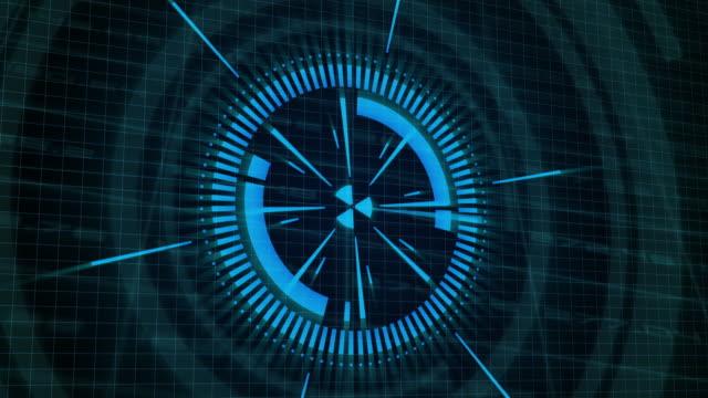 design HUD elements for technology background