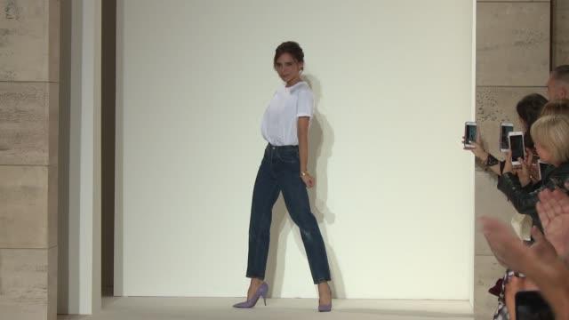 Designer Victoria Beckham at Victoria Beckham New York Fashion Week Spring 2018 at Cipriani 25 Broadway on September 10 2017 in New York City