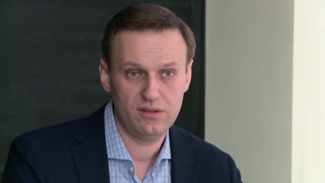 Despite constant pressure from the authorities the Kremlin's top critic Alexei Navalny says he is not afraid of the risks associated with his...