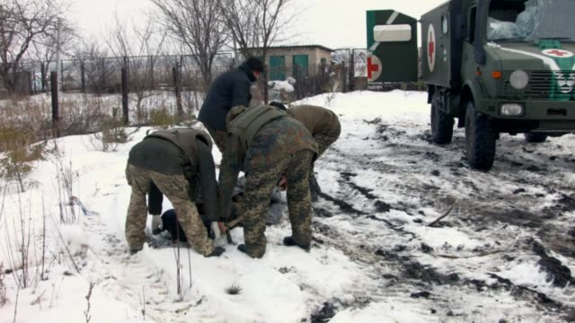 Despite the ceasefire in Eastern Ukraine clashes are still ongoing