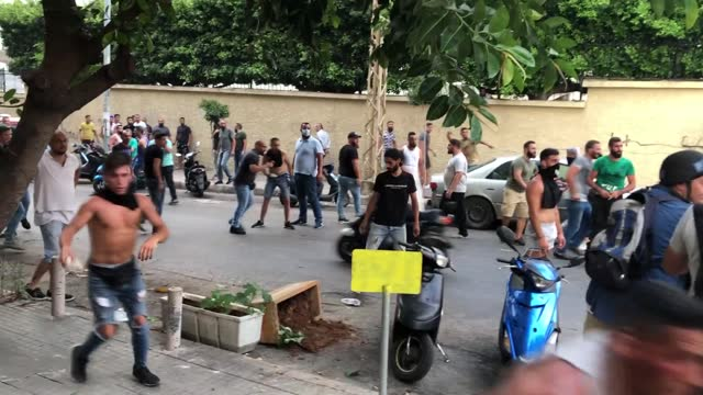despite the deepening economic crisis in lebanon, the inconclusive efforts to form a new government caused new protests in the country on thursday,... - politician stock videos & royalty-free footage