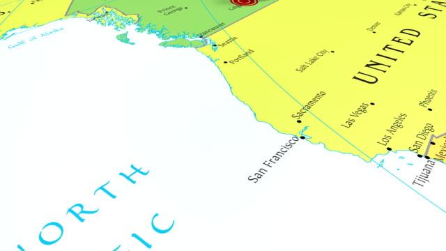 ホテルカルガリー - 画鋲点の映像素材/bロール