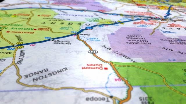 destination los angeles hd - road map stock videos & royalty-free footage