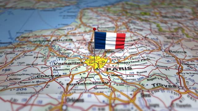 destination paris - île de france stock-videos und b-roll-filmmaterial