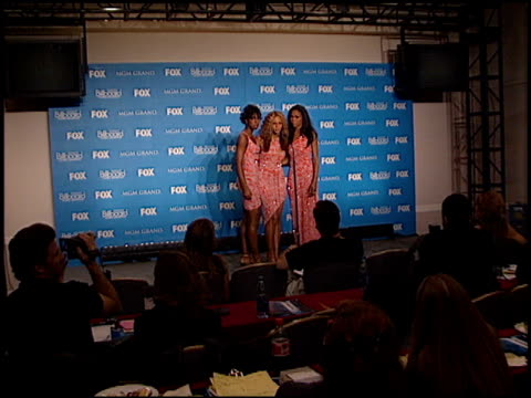 destiny's child at the 2000 billboard music awards press room on december 5, 2000. - destiny's child stock videos & royalty-free footage